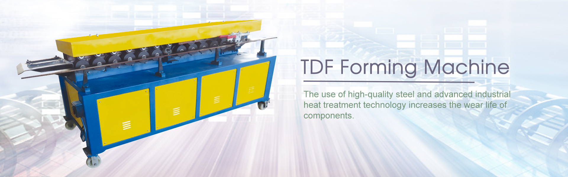 JHT TDF - Flange Forming Machine