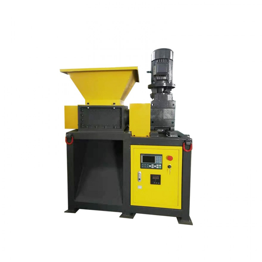 DS450  model double shaft shredder machine