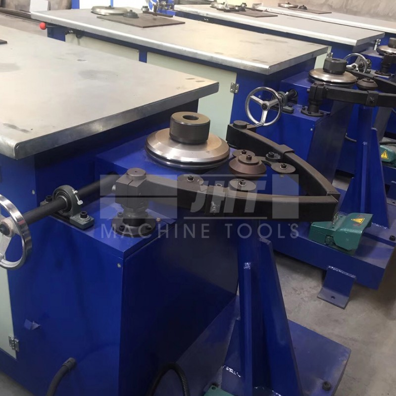 High Quality Round Duct Electric Elbow Making Machine For