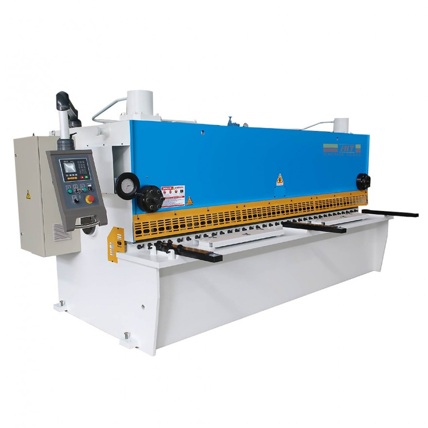 HGS Series Hydraulic guillotine shearing Machine With Delem DAC360S CNC System 12*3200