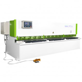 HSS Series Hydraulic Swing Beam Type Shearing Machine With CNC system  8x3200
